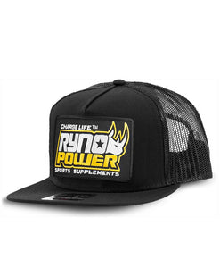 Ryno Power Mesh Hat Black
