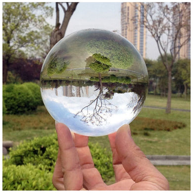 Hot Sell Magic Photography Crystal Ball Quartz FengShui Glass Crystals Craft Travel Take Pictures Table Decor Home Decors