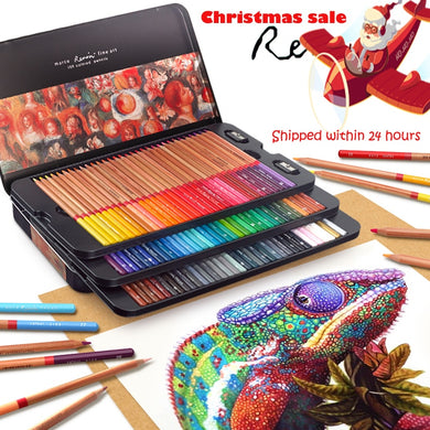 Marco Renoir 24/36/48/72/100 Colors Pencil Set lapices de colores profesionales Crayons Colouring Drawing Pencils Set Wholesale