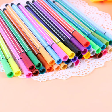 24 colors gel pen Colorful caneta cute canetas material escolar stationary kalem boligrafo stylo canetas coloridas escolar