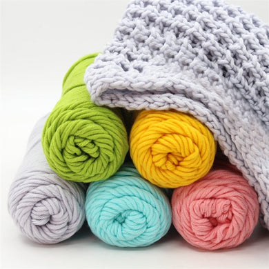 8 ply 100% cotton Crochet Knitting Super soft cotton yarn Crochet Craft 100g Baby 62 colors