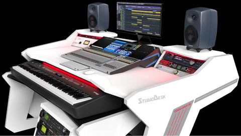 Commander V2 Desk - studio workstation