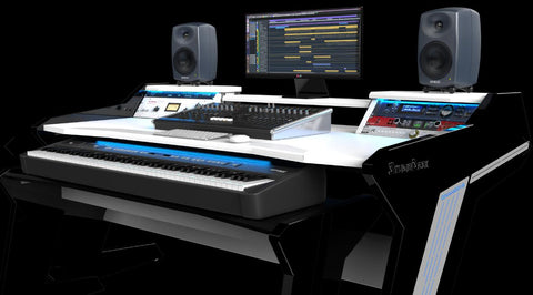 Commander V2 recording worksation studio desk