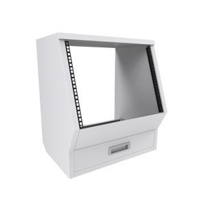 Floor rack cabinet White Enterprise series