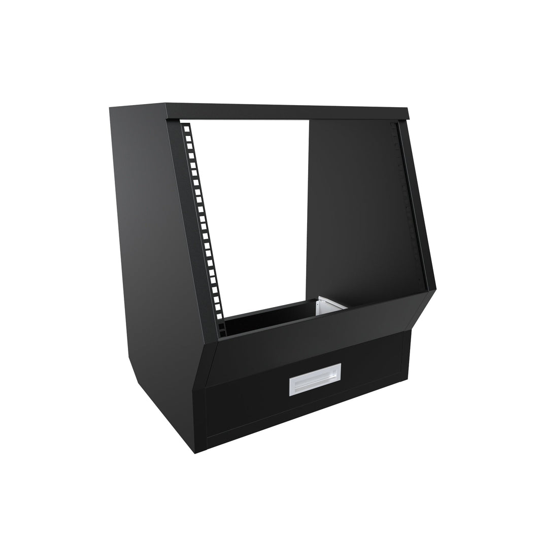 Floor rack cabinet Black Enterprise series
