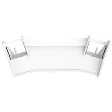 PRO LINE S Desk All white
