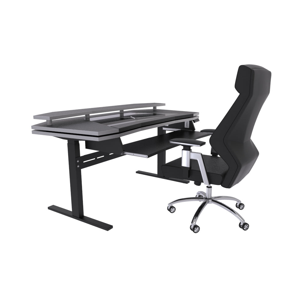 Xtreme desk - Sit & Standing workstation Bundle with ERGO 2.0 Studio Chair Black