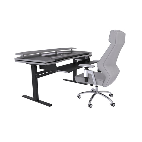 Xtreme desk - Sit & Standing workstation Bundle with ERGO 2.0 Studio Chair Grey