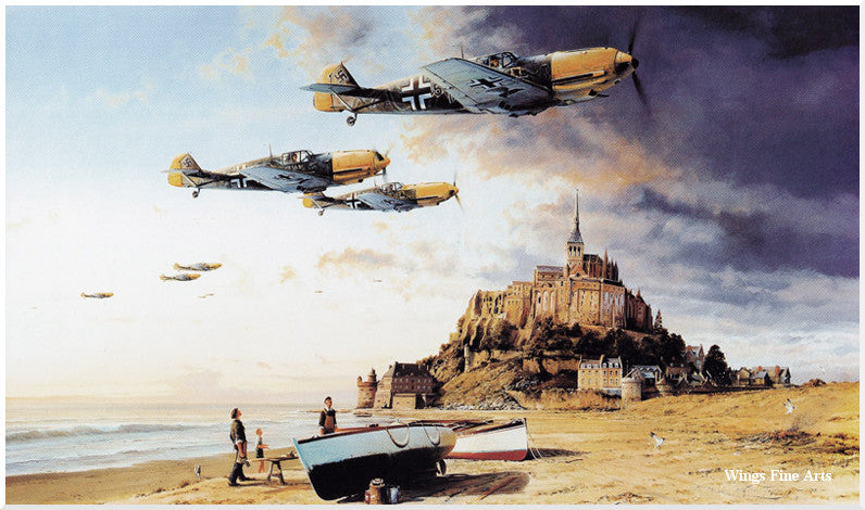 Aces of the Western Front - aviation art by Robert Taylor