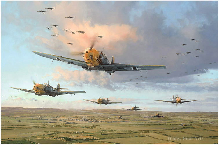 Assault On The Capital by Robert Taylor - Aviation Art