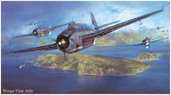 Air Combat Painting Book - Volume 1 by Robert Taylor - Aviation Art