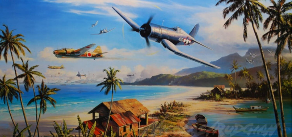 Battle for the Islands by Nicolas Trudgian -  Aviation Art