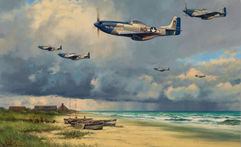 Beyond The Storm by Anthony Saunders - Aviation Art