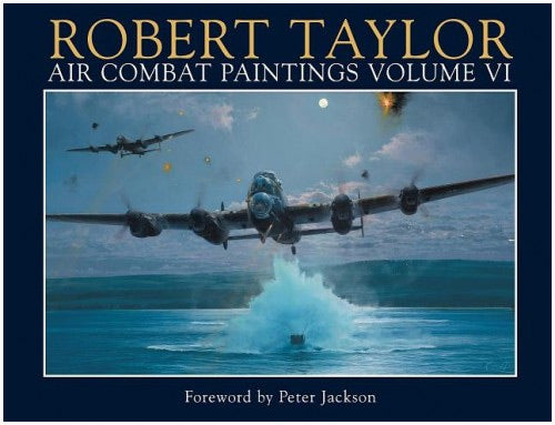 Book - Volume IV - Air Combat Painting Volume 4 by Robert Taylor - Aviation Art