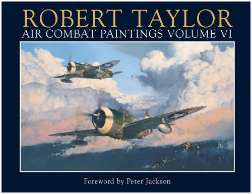 Air Combat Paintings Book - USAAF Edition by Robert Taylor - Aviation Art