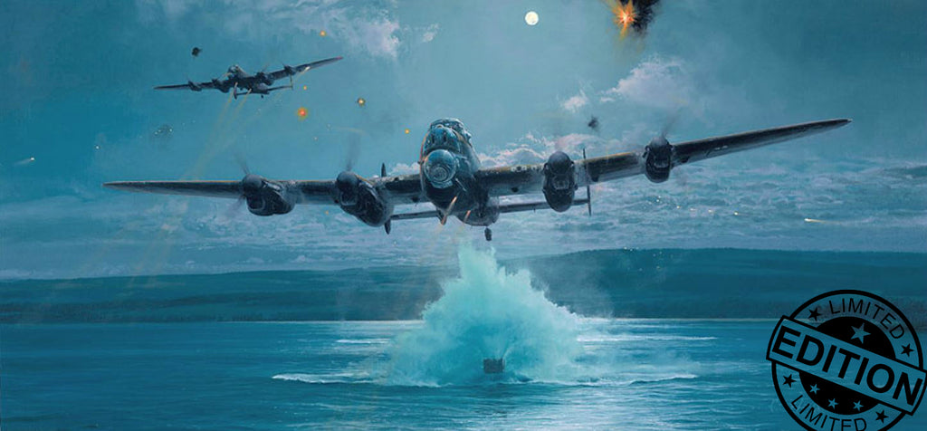 The Dambusters - Impossible Mission (Giclee) by Robert Taylor - Aviation Art of the RAF Lancaster