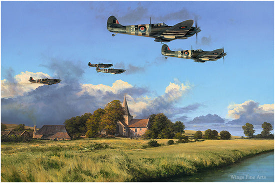 Dawn Till Dusk by Richard Taylor - Aviation Art