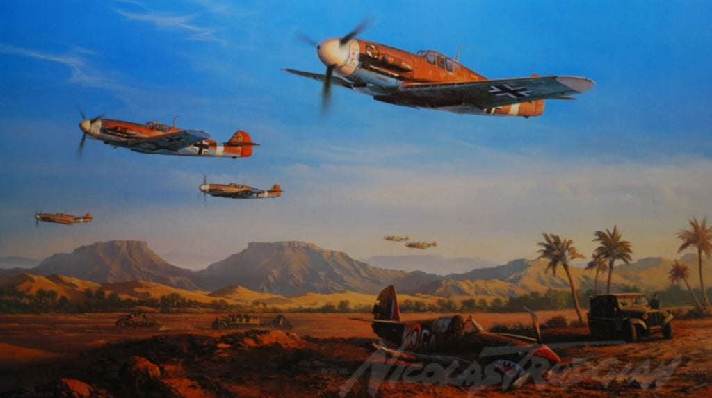 Desert Victory by Nicolas Trudgian - Aviation Art