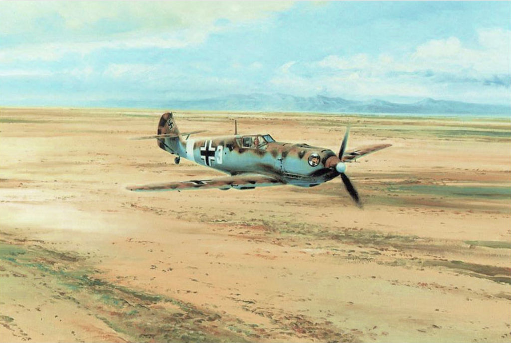 Desert Warrior By Aviation Art Robert Taylor