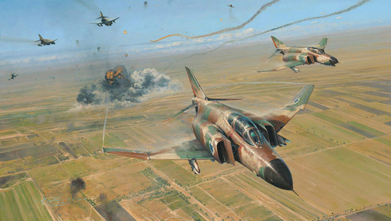 Double Strike by Robert Taylor - Aviation Art