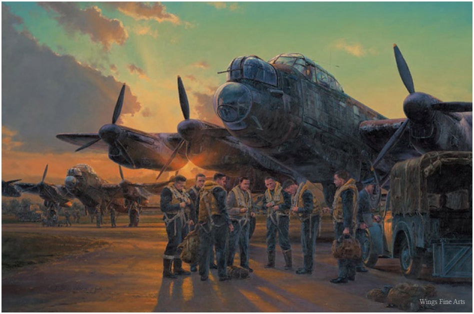 Final Roster by Anthony Saunders - Aviation Art