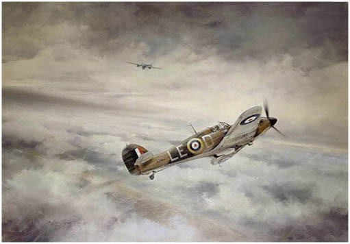 First of Many by Robert Taylor - Aviation Art