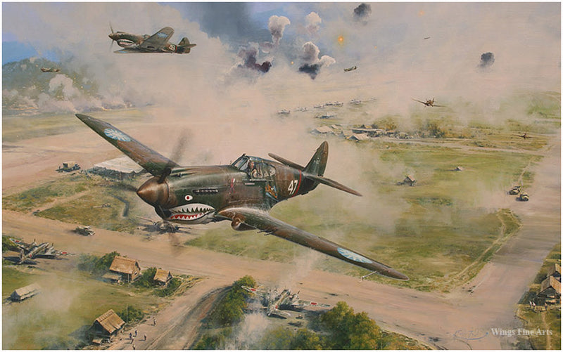 Flying Tigers by Richard Taylor -  Aviation Art