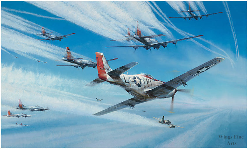 Jet Hunters by Richard Taylor -  Aviation Art