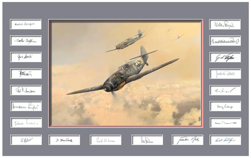 Karaya 1 JG52 - Luftwaffe Trilogy by Darry Legg, Me109 of the Luftwaffe