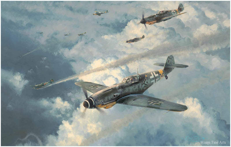 Knight of the Reich by Robert Taylor - Aviation Art of the Me109 of the Luftwaffe