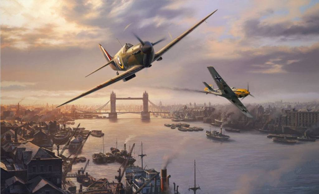 London Pride by Nicolas Trudgian -  Aviation Art of Spitfires