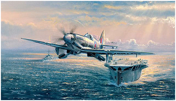 No Room For Error by Philip West - Aviation Art