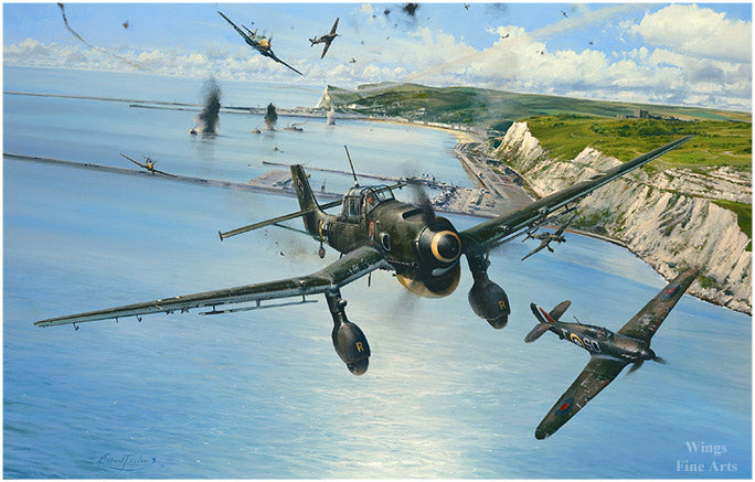 Open Assault by Robert Taylor - Aviation Art