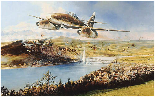 Bridge At Remagen by Richard Taylor -  Aviation Art