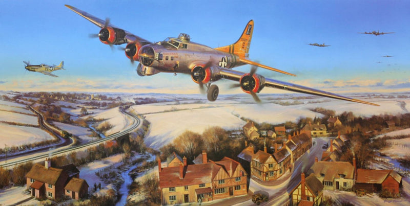 Last Man Home by Nicolas Trudgian -  Aviation Art