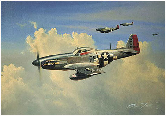 Dual Victory  by Richard Taylor - Aviation Art
