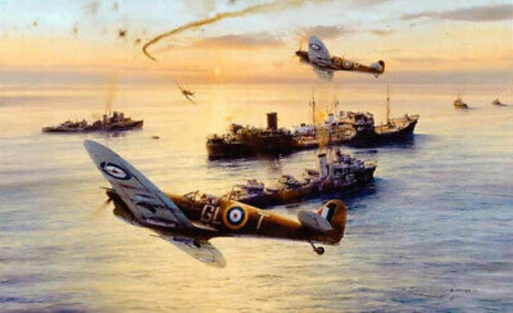 The Gallant Ohio by Robert Taylor - Aviation Art of Spitfires of the RAF
