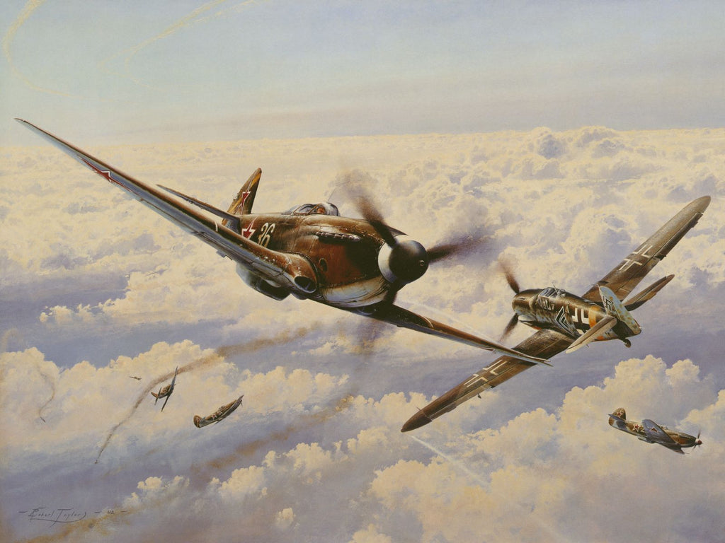 Russian Roulette by Robert Taylor -  Aviation Art