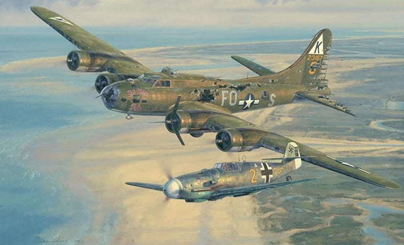 Return to Kimbolton - Aviation Art by John Shaw