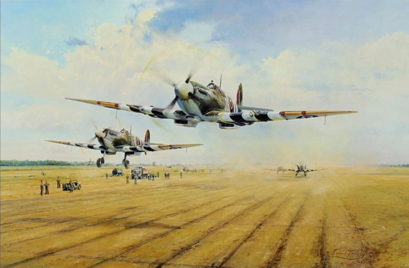 Hunters at Dawn by Robert Taylor - Aviation Art