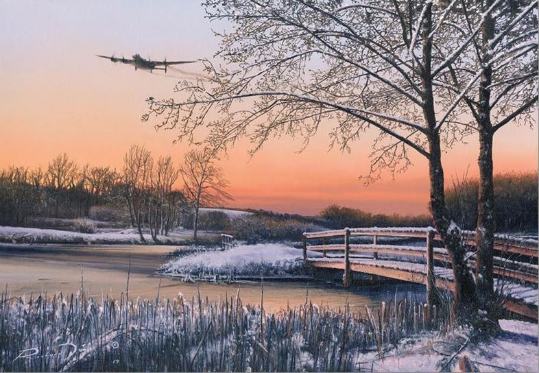 Straggler at Dawn by Richard Taylor - Aviation Art