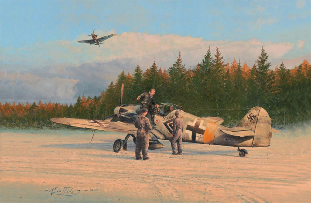 The Blonde Knight by Robert Taylor - Aviation Art