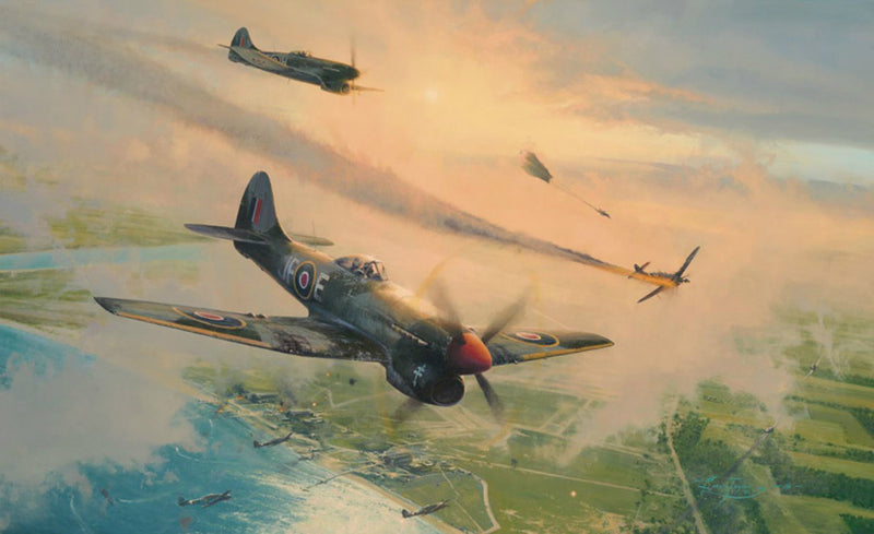 The Final Show  by Robert Taylor - Aviation Art