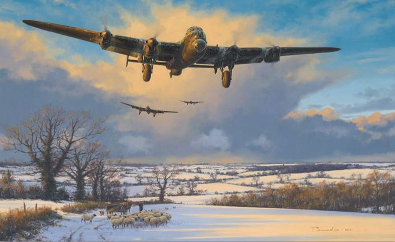 The Workhorse by Anthony Saunders - Aviation Art