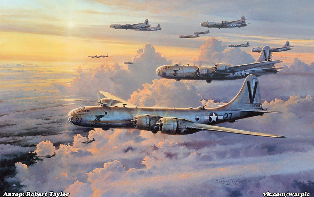 Valor In Pacific by Robert Taylor -  Aviation Art