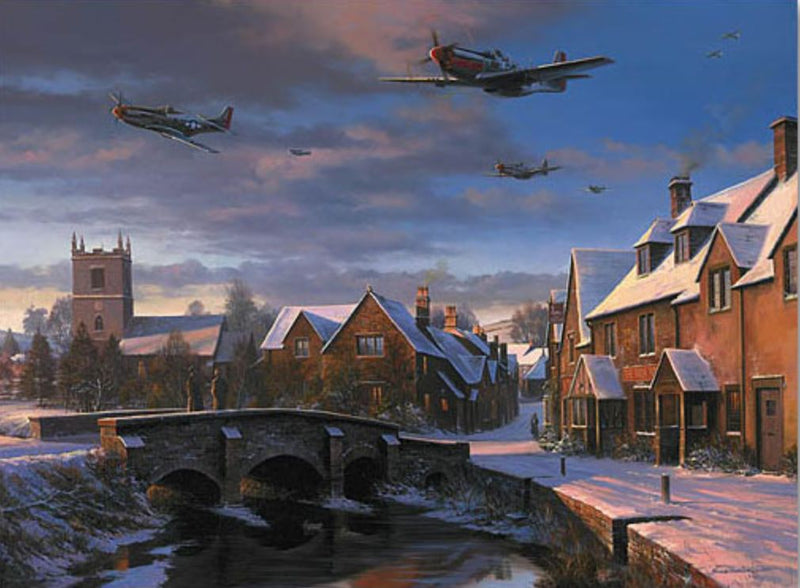 Their Finest Hour -  Battle Of Britain  by By Nicolas Trudgian - Aviation Art