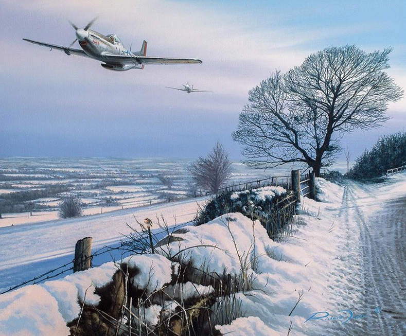 Winters Wings by Richard Taylor - Aviation Art