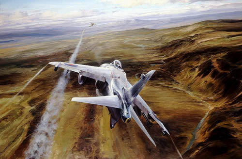 Airstike by Robert Taylor - Aviation Art