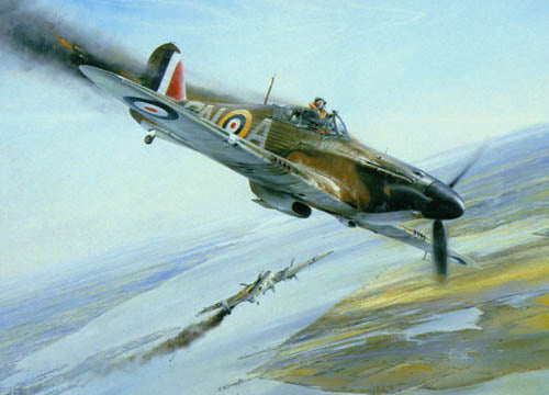 Battle Of Britain by Robert Taylor - Aviation Art