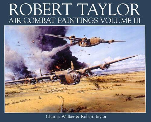 Air Combat Paintings Book - Volume 3 - by Robert Taylor - Aviation Art